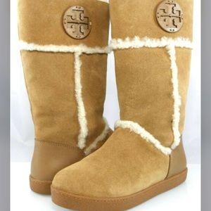Final drop 🎃Tory Burch Amelie sheepskin boots